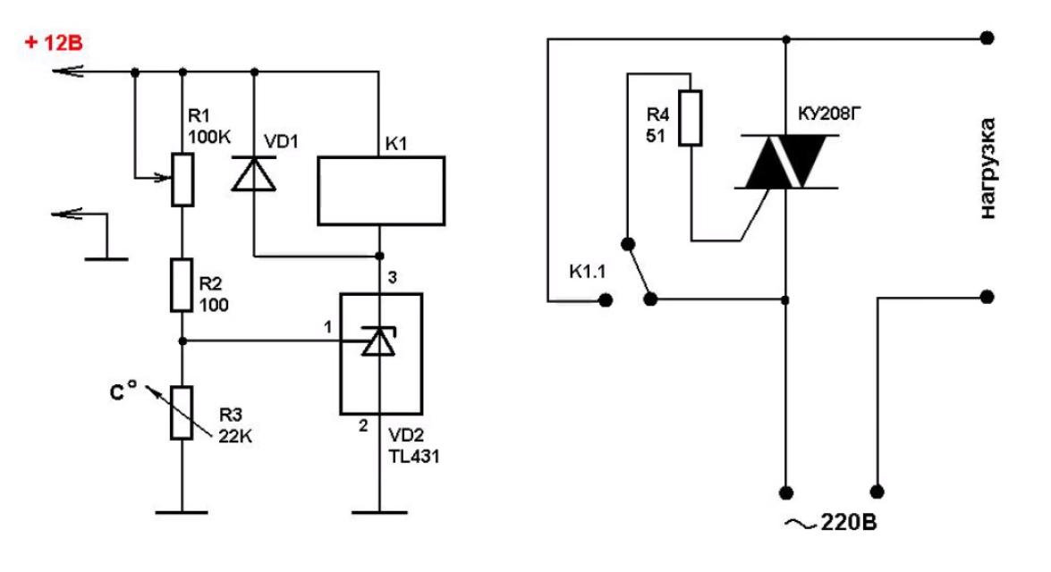 Регулятор температуры на транзисторах своими руками
