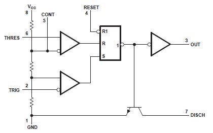 Разнообразие простых схем на NE555