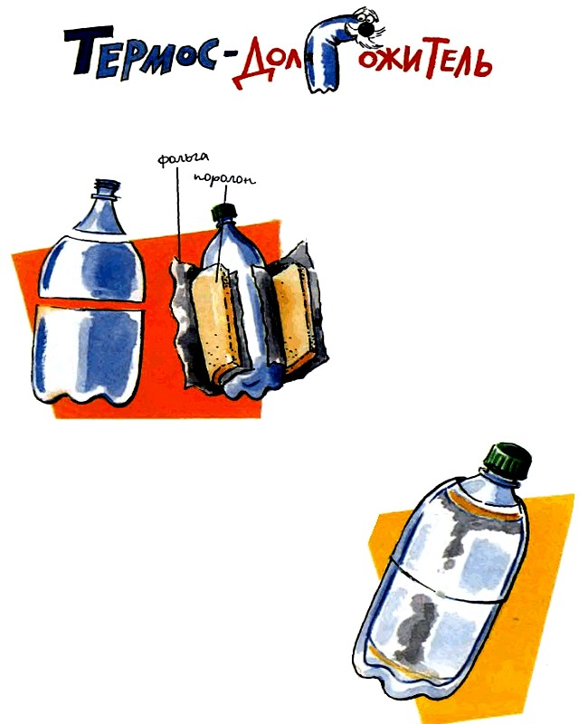 Термос из пластиковых бутылок