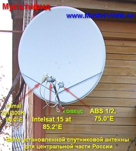 Как установить спутниковую антенну континент самостоятельно - Kaps-vl.ru