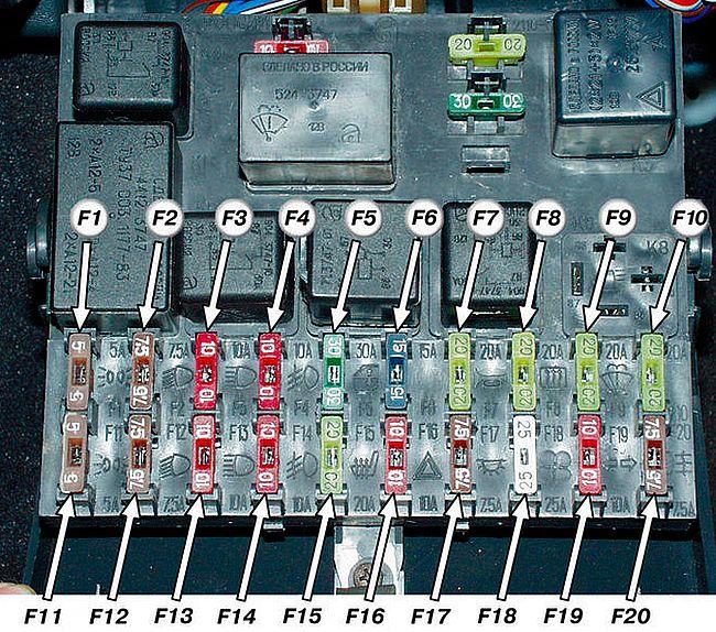 Схема электропроводки ваз 2110 карбюратор