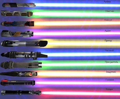 Несколько вариантов изготовления светового меча своими руками.