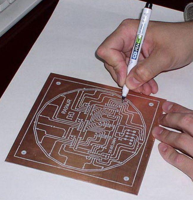 Изготовление печатных плат своими руками