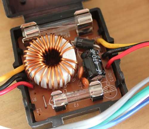 Фильтр радиопомех для автомагнитолы 75