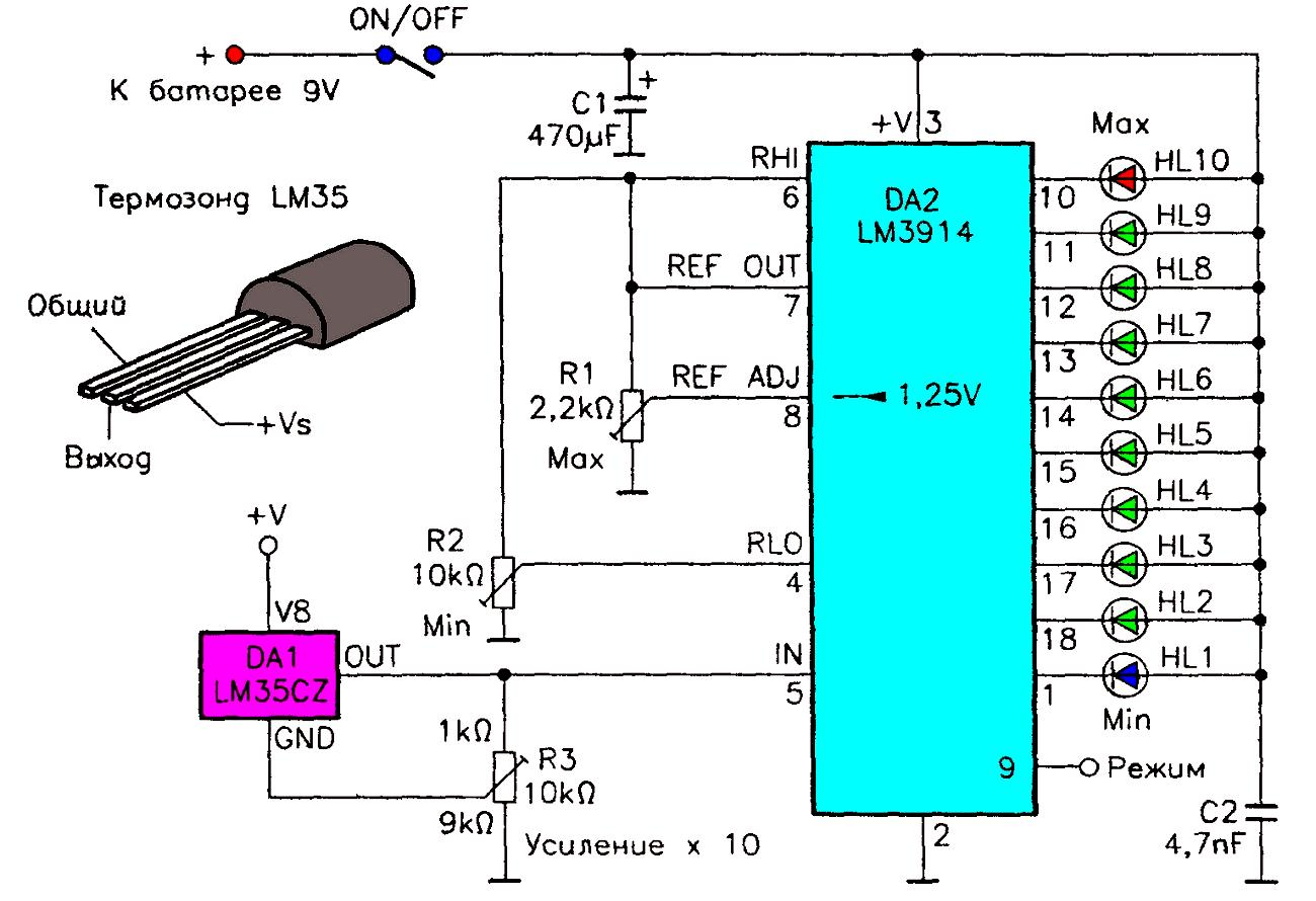 Электронный индикатор своими руками фото 899