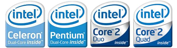 Таблица основных характеристик процессоров Intel LGA775