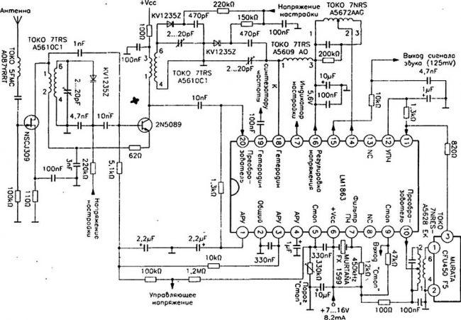 Простые радиоприёмники АМ