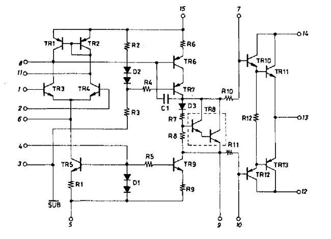 Усилитель НЧ мощностью до 60 Вт на STK4038