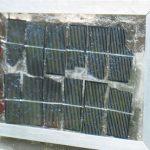 Солнечная батарея для вентиляции туалета!