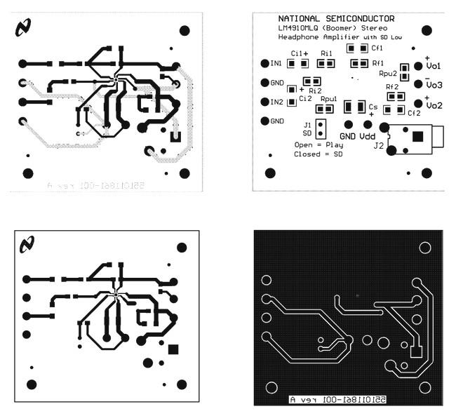 Аудиоусилитель для наушников на LM4910 стерео