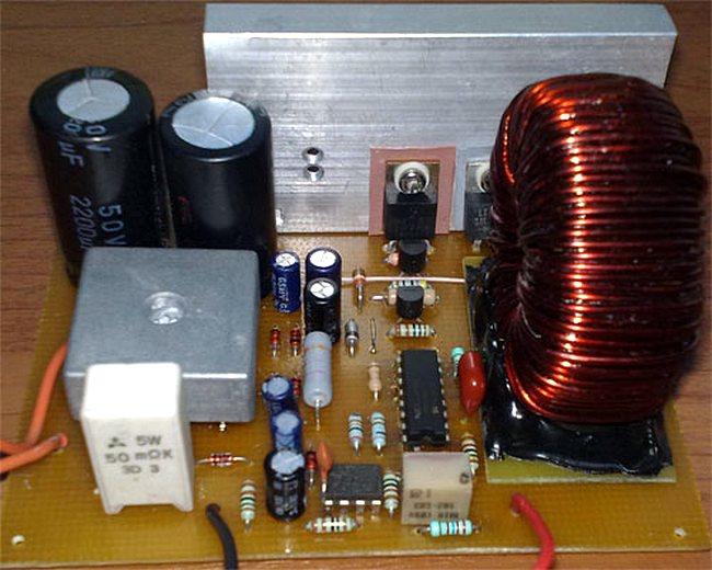 Мощный лабораторный блок питания с MOSFET транзистором на выходе своими руками