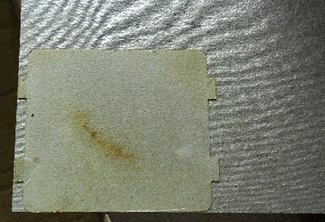 Замена слюдяной прокладки в СВЧ печи своими руками.