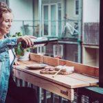 Как сделать балконный бар своими руками?