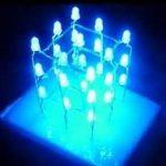 Как сделать простой светодиодный куб?