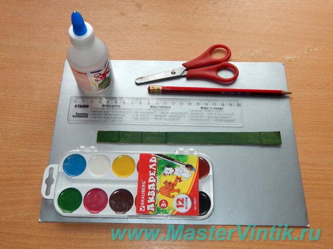 Разноцветный лабиринт из картона быстро!