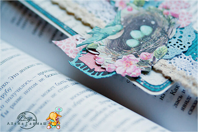 Воздушная закладка для книг своими руками