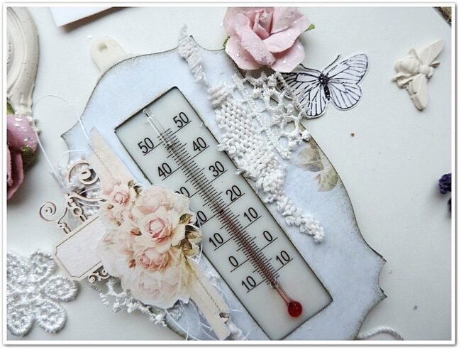Декор комнатного термометра