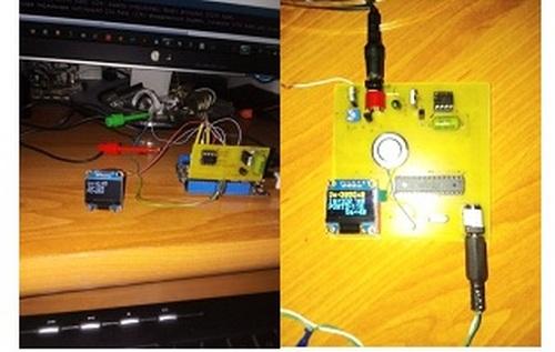 Зарядное устройство li-ion аккумуляторов на базе МК ATMega328